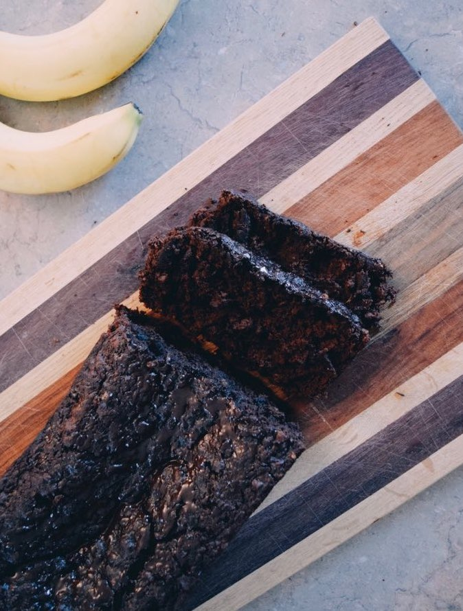 Chocolate Banana Loaf (Vegan and Gluten-Free)